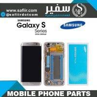 تاچ ال سی دی سامسونگ - قطعات موبایل - تعمیرات موبایل - لوازم تعمیرات موبایل - تاچ ال سي دي سامسونگ S7 EDGE سرويس پک-LCD S7 EDGE SILVER