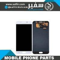 ال سی دی سامسونگ- تعمیرات موبایل - لوازم تعمیرات موبایل - قطعات موبایل سفیر- قطعات موبایل-تاچ ال سي دي C8 گلس چنج-LCD C8 CHANGE GLASS WHITE