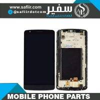 LCD G3 STYLUS D690+FRAME BLACK- تاچ ال سي دي ال جي G3 STYLUS - قیمت ال سی دی موبایل - فروش عمده قطعات موبایل - قطعات موبایل