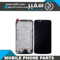 LCD K10+IC+FRAME-TV BLACK - تاچ ال سی دی ال جی K10+IC - تاچ ال سی دی ال جی - قطعات موبایل - قیمت تاچ ال سی دی - خرید قطعات موبایل
