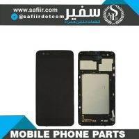 LCD K8-2017+FRAME M160 BLACK-تاچ ال سی دی ال جیK8 2017 - تاچ ال سی دی ال جی - قطعات موبایل - قیمت تاچ ال سی دی - فروش قطعات موبایل
