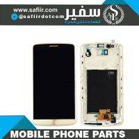 LCD G3+FRAME 2SIM GOLD - تاچ ال سي دي ال جی G3 -تاچ ال سی دی ال جی - قطعات موبایل - قیمت تاچ ال سی دی - خرید قطعات موبایل