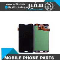 قطعات موبایل - قطعات موبایل سفیر - لوازم تعمیرات موبایل - تعمیرات موبایل - ال سی دی سامسونگ -تاچ ال سي دي NOTE 3 گلس چنج-LCD NOTE 3+FRAME N900 BLACK