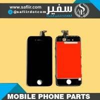 LCD IPHONE 4G ORIGINAL BLACK |قیمت ال سی دی آیفون 4G H اورجینال ال سی دی آیفون 4 |قیمت LCD IPHONE 4G ORG | قطعات موبایل سفیر