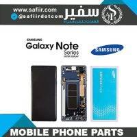 تاچ ال سي دي سامسونگ NOTE 10 سرويس پک-LCD NOTE 10 SERVICE PACK WITH FRAME BLACK- قطعات موبایل- لوازم تعمیرات موبایل- تاچ ال سی دی - ال سی دی نوت 10