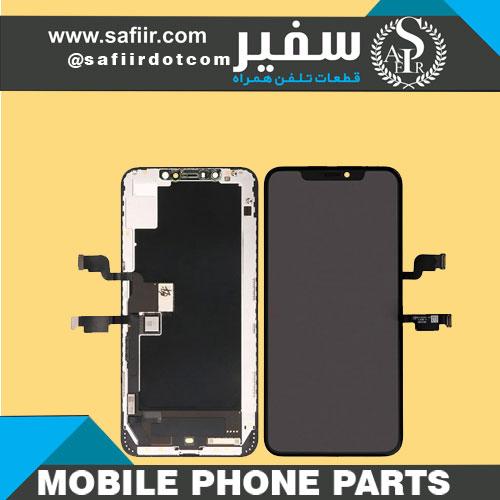 تاچ ال سی دی آيفونXS MAXمشکی - LCD IPHONE XS MAX CHANGE GLASS BLACK -تاچ ال سی دی آیفون-تاچ ال سی دی -قطعات موبایل - ال سی دی آيفون xs مکس