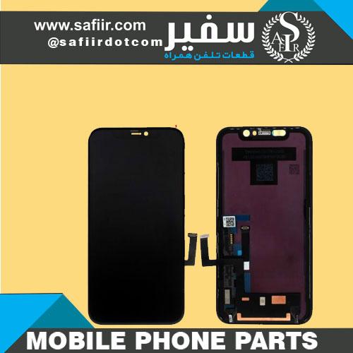 تاچ ال سی دی آيفون11مشکی - LCD IPHONE 11 CHANGE GLASS BLACK -تاچ ال سی دی آیفون-تاچ ال سی دی -قطعات موبایل - ال سی دی آيفون 11 چنج