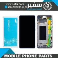 ال سی دی سامسونگ S10 Lite سرویس پک | LCD S10 Lite SERVICE PACK BLACK | قطعات موبایل | قیمت ال سی دی موبایل | تاچ ال سی دی | تعمیرات موبایل سفیر | فروش قطعات موبایل | قطعات موبایل سفیر
